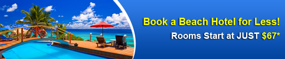 Book a Beach Hotel for Less!