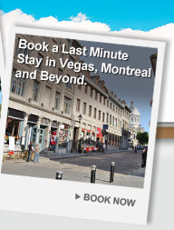 Book a Last Minute Stay