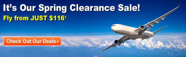 It's Our Spring Clearance Sale!
